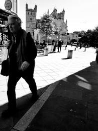 oldish man
