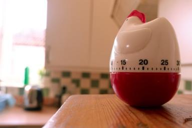 egg timer in situ